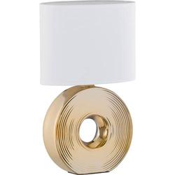 Fischer & Honsel Eye 56197 Tischlampe E14 Gold
