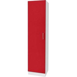 wiho Küchen Seitenschrank Kiel 50 cm breit rot