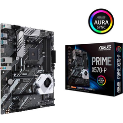 Asus Prime X570-P Mainboard Sockel AMD AM4 Formfaktor ATX Mainboard-Chipsatz AMD® X570