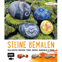 Steine bemalen: Buch von Marion Kaiser