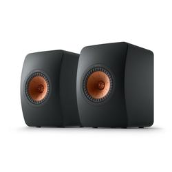 KEF LS50 Meta Regal-Lautsprecher (100 W, Regal-Lautsprecher, Monitor-Lautsprecher, 40-100Watt) schwarz