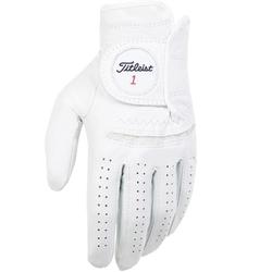 Titleist Permasoft 2020 Golf-Handschuhe Herren   LH pearl weiß ML
