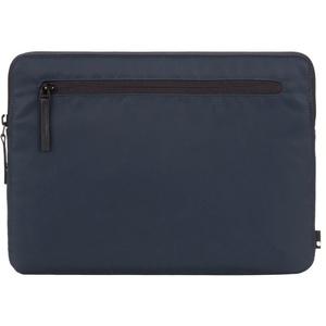 """Incase Tasche Compact Sleeve Hülle für Apple MacBook Pro (Retina) 15,4"""" / Pro 15,4"""" (2016 - 2019)- Navy Blau [Flight Nylon I Zubehörtasche I Kunstfell-Interieur I Reißverschluss]"""