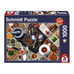 Schmidt Spiele Puzzle Gewürze, 1000 Puzzleteile