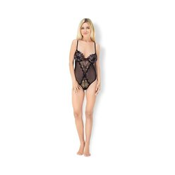 Leg Avenue 'Lace & Mesh Teddy'