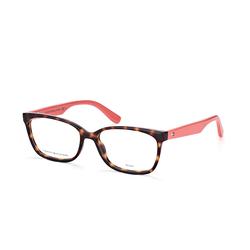 Tommy Hilfiger TH 1492 9N4, inkl. Gläser, Cat Eye Brille, Damen