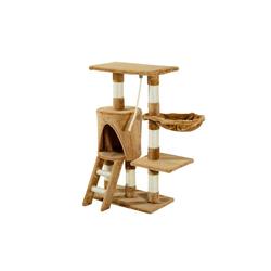 PawHut Kratzbaum Kletterbaum für Katzen