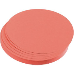Franken Kreise/UMZ 10 07 9,5cm rot 130g Inhalt 500 Stück