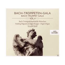 Bach-trompetenensemble München & Mehl - Bach-trompeten-gala Vol.4 (CD)
