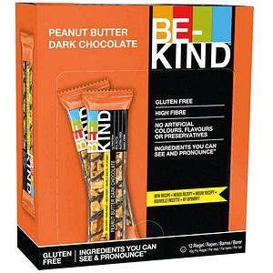 BE-KIND Peanut Butter Dark Choclate Nussriegel 12 Riegel