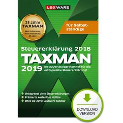 Lexware TAXMAN 2019 für Selbstständige (für Steuerjahr 2018)