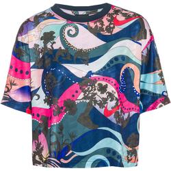 Nike NSW T-Shirt Damen in mystic stone, Größe S mystic stone S