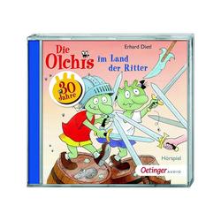 Oetinger Hörspiel CD Die Olchis im Land der Ritter, 1 Audio-CD
