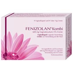 FENIZOLAN Kombi 600 mg Vaginalovulum+2% Creme 1 P