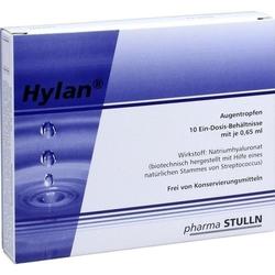 HYLAN 0,65 ml Augentropfen 10 St
