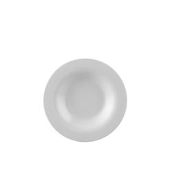 Rosenthal Suppenteller Moon Weiß Suppenteller 24 cm, (1 Stück)