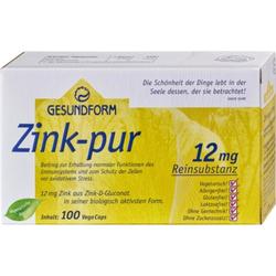 GESUNDFORM Zink Pur Kapseln