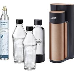My Sodapop Wassersprudler Harold Kupfer inkl. 1 PET-Flasche, inkl. 2 Glaskaraffen, und 1 CO2-Zylinde