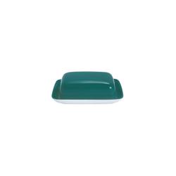 Kahla Butterdose Butterdose Pronto Colore, Porzellan, (1-tlg) grün