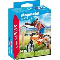 Playmobil Special Plus Mountainbiker auf Bergtour