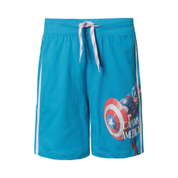 The AVENGERS Shorts Marvel Avengers Shorts für Jungen blau 104