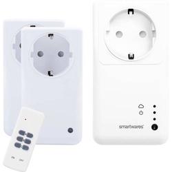 Smartwares SH5-SET-GW Funk Steckdosen-Set