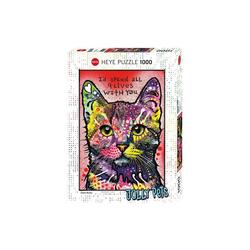 HEYE Puzzle Puzzle 1000 Teile - Jolly Pets - Katze, Puzzleteile
