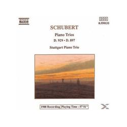 Stuttgart Piano Trio, Stuttgarter Klaviertrio - Schubert: Trios, D. 929 & 897 (CD)
