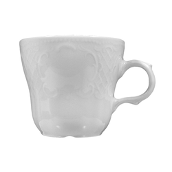 Salzburg Kaffeetasse Birne weiß