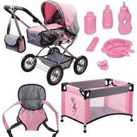 Bayer Design Grande Set grau/pink