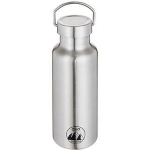 CILIO Isolierflasche GRIGIO 0,5 Liter Edelstahl
