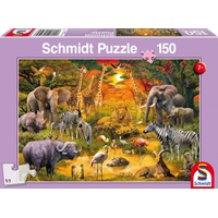 Schmidt Spiele Tiere in Afrika (56195)