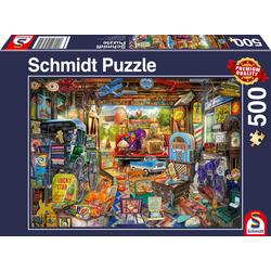 Garagen-Flohmarkt Puzzle 500 Teile