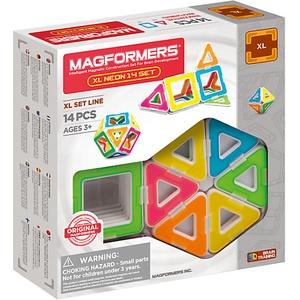 MAGFORMERS XL Neon Set 14 P