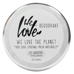 We Love The Planet Natürliche Deodorant Creme So Sensitive 48 g