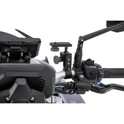 Hashiru Kamerahalter für Lenker 22mm oder zum Anschrauben schwarz