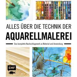Alles über die Technik der Aquarellmalerei: Buch von