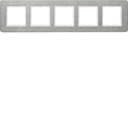 Berker 10256083 ,Rahmen 5fach waag Q.7 E-St Geb