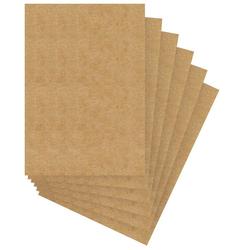 URSUS Kraftpapier Menükarten, 6 Stück