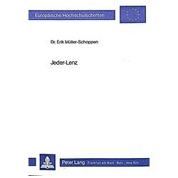 Jeder-Lenz. Erik Müller-Schoppen  - Buch