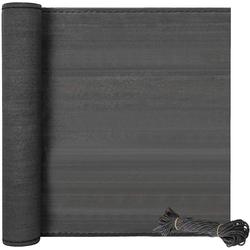 Woltu Blende, Zaunblende Maschendrahtzaun,HDPE anthrazit 100 cm x 600 cm