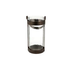 Windlicht ¦ kupfer ¦ Metall, Glas  Ø: 14.3