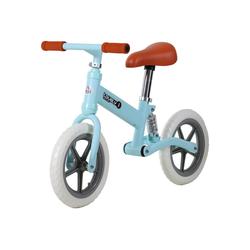 HOMCOM Laufrad Kinder Laufrad mit Stoßdämpfer blau