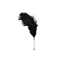 Federstab mit Straußenfeder - 13cm