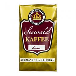 "Gemahlener Kaffee Seewald Kaffeerösterei ""Kaffee Luxus"" (Filterkanne, Karlsbader Methode), 250 g"