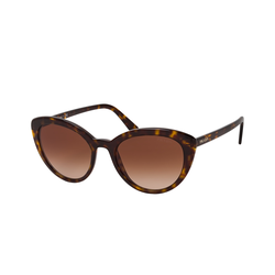 Prada CATWALK PR 02VS 2AU6S1, Cat Eye Sonnenbrille, Damen
