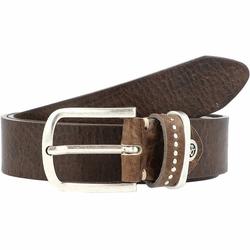 b.belt Fashion Basics Cleo Gürtel Leder grau/taupe 85 cm