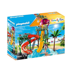 Playmobil® Spielfigur PLAYMOBIL® 70609 Aqua Park mit Rutschen