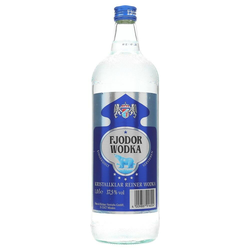 Fjodor Wodka 37,5% 1 ltr.