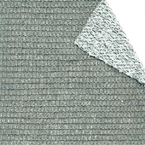 Tenax Gewebe, Schirmstoff und Schattenschirm 2x5 m Weiß/Grau